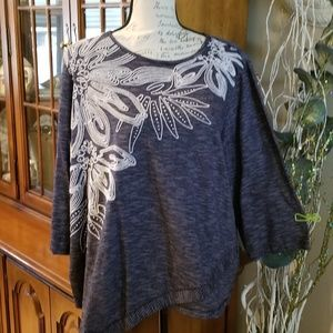 END Of SUMMER Sale: Alfred Dunner Top